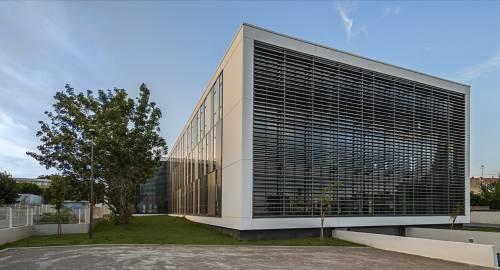 photo immeuble beton et verre - Collecter